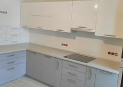 Кухня из МДФ крашенный RAL5024/ZOV100