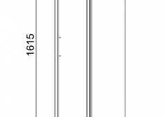 60.07 Шкаф 35 Флоренция с ящиками подвесной