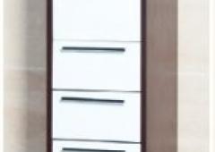 21.70-01 Шкаф 35 Атра с ящиками с корзиной левый