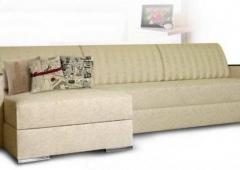 Милан 5 диван угловой с накладками, в рассрочку, под заказ, Мебельмакс, Экомебель