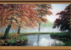 Гобеленовое панно Рыжая осень