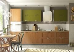 Кухни с фасадами из рамочного МДФ
