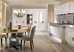 Кухня Акрил-5 белый
