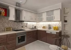 Кухня ЗОВ Акрил Шоколад/Сахар