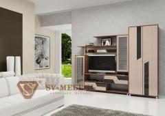 """Гостиная """"Нота 9"""", достойная мебель, под заказ, купить в рассрочку, дешево, недорого, купить качественную мебель, купить красивую мебель,"""