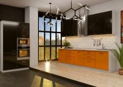 Кухня Модуль 1: 3,0м +1,2м линейная