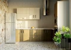 Кухня Модуль 15:  2,7х1,6м угловая