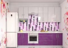 Кухня Модуль 4:  2,6м линейная