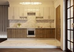 Кухня Модуль 5:  3,4м +1,2м линейная