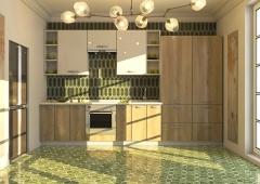 Кухня Модуль 7:  2,4м +1,2м линейная