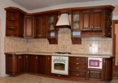 Кухня Массив ольхи 3,52 на1,52 м