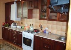 Кухня Массив ольхи T 316