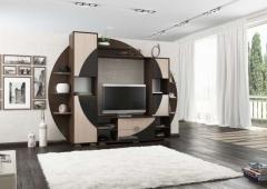 """Гостиная """"Нота 17"""", достойная мебель, под заказ, купить в рассрочку, дешево, недорого, купить качественную мебель, купить красивую мебель,"""