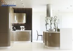 Кухня ЗОВ Орион Акрил Шампань