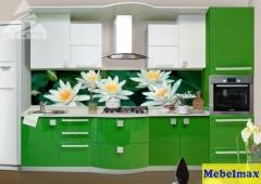 Кухня МДФ крашенный Система RAL 2000/6038, глянец