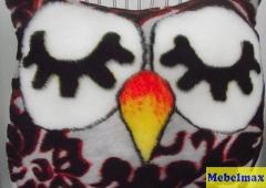 Подушка спящая сова