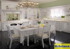 Кухня Массив ясеня т514