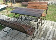 Комплект скамейка и стол