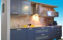 Кухня МДФ крашенный RAL 5024 матовый