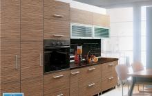 Кухня,Фасад Дуб полосатый,ЗОВ,мебельмакс,мебель