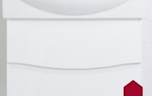 61.06 (10) Тумба под умывальник 85 Фиджи с 2 ящ. подвесная