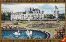 Гобеленовое панно Замок Дианы