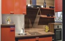 Кухня,Апельсин,пластик,ЗОВ,мебельмакс,мебель. Мебельмакс - кухни под заказ