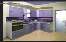 Кухня МДФ крашенный RAL 4011