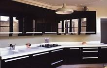 Кухня Фасад Акрил Черный глянцевый