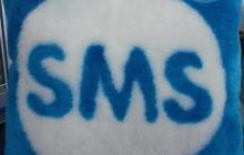 Подушка SMS