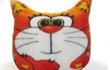 Подушка кот 1