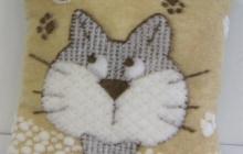 подушка коты