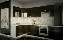 Кухня Модуль 12:  1,4х2,7м угловая