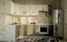 Кухня Модуль 13:  1,4х2,7м угловая