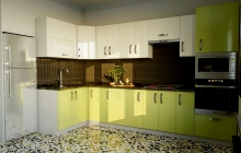 Кухня Модуль 14:  1,4х2,7+0,6м угловая