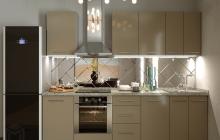 Кухня Модуль 3:  2,5м линейная