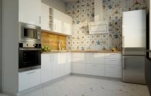 Кухня Модуль 8:  0,6м+2,0х2,2м угловая