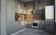 Кухня Модуль 9:  0,6м+2,0х2,4м угловая