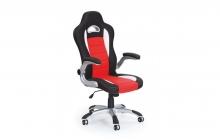 Кресло компьютерное HALMAR LOTUS красно-черное