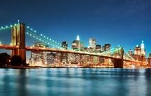 Бруклинский мост. Кухонная стеновая панель из МДФ