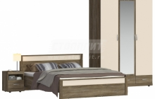 Монако Спальня шкаф 3х дверный