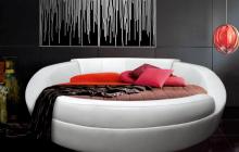 Кровать, Лагуна, Пуфф, прямая, Мебельмакс, мебель