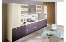 Кухня,пластик,Слива/Бежевый ЗОВ,мебельмакс,мебель