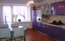 Кухня МДФ крашенный RAL 4005,ЗОВ,мебельмакс,мебель
