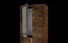Шкаф с витриной Вирджиния 1785.00