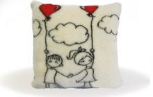 подушка влюбленные человечки