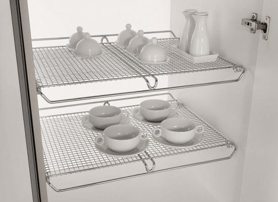 Сетчатая полка для кухни