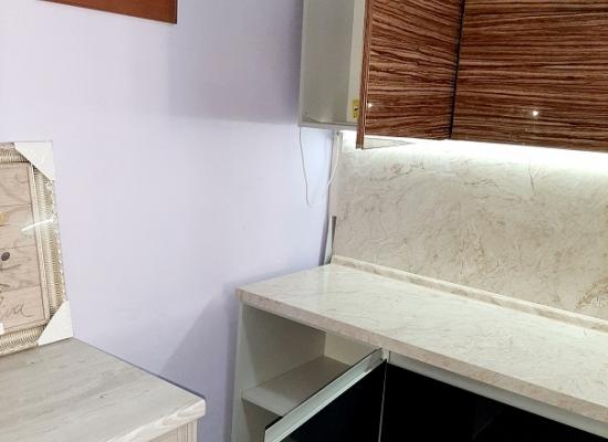 Кухня Акрил-5 Зебрано
