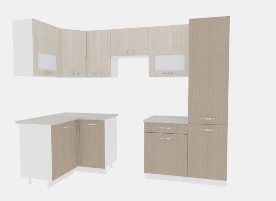 Кухня Эко 5 - 1,4х2,6