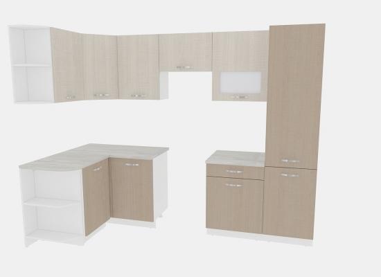 Кухня Эко 6 - 1,3х2,8
